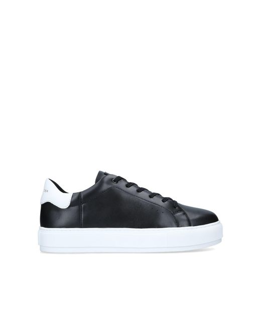 Kurt Geiger Black Leather Chunky Sneakers for men