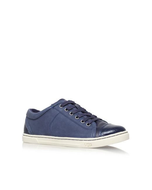 Ugg - Blue Taya Croco In Navy - Lyst