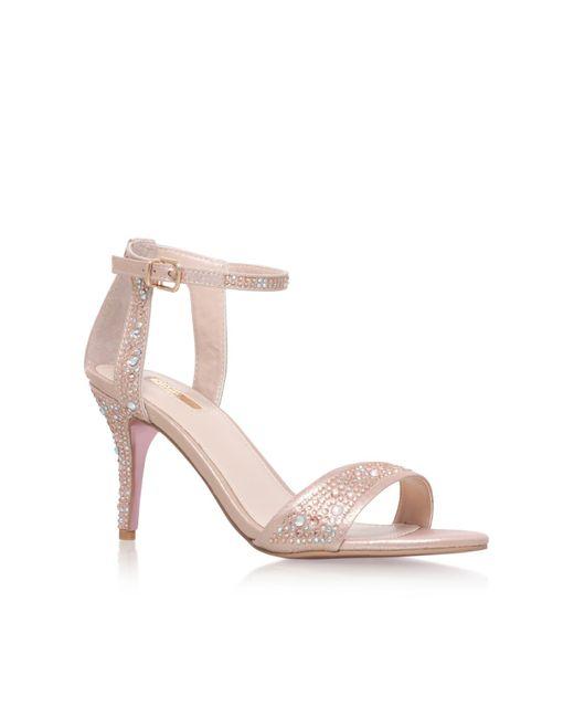 Carvela Kurt Geiger - Pink Kollude High Heel Sandals - Lyst