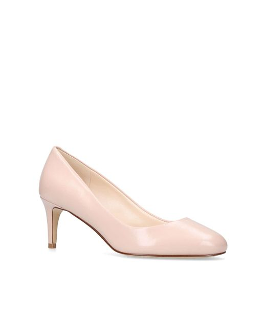 Nine West - Natural 'cassidy' Mid Heel Court Shoes - Lyst