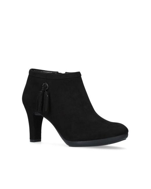 Anne Klein - Black 'silva' Ankle Boots - Lyst