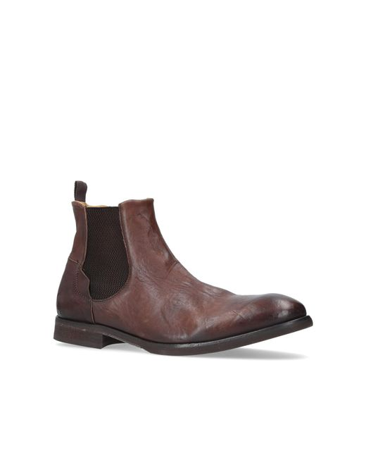 H by Hudson | Watchley Washed Chelsea In Brown for Men | Lyst