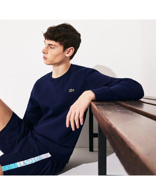 Lacoste Sport Men's Hoody Hoodie Sweatshirt Full Zip Slim Fit Charcoal