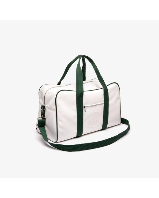 19f0b12bd08 ... Lacoste - Multicolor 1930's Original Embossed Lettering Weekend Bag for  Men ...