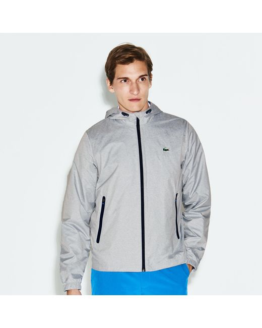 Lacoste - Blue Sport Metallic Zip Golf Jacket for Men - Lyst