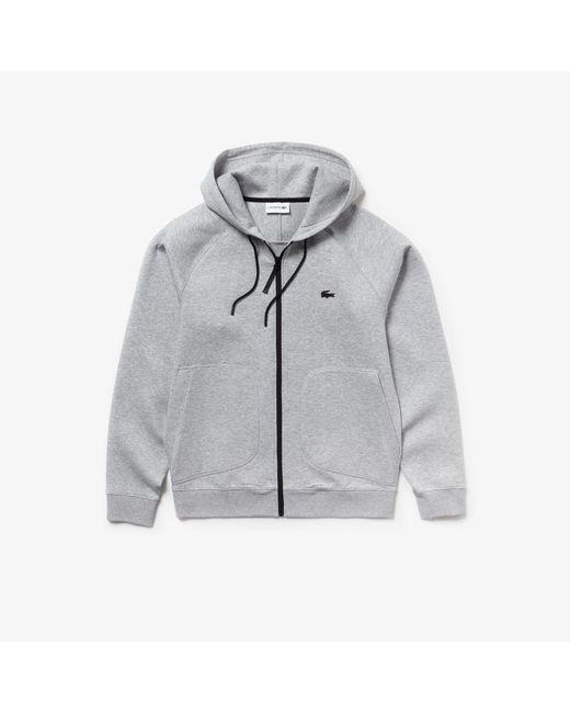 Hoodie Lacoste Motion Overstitched Technical Fleece Zip Sweatshirt