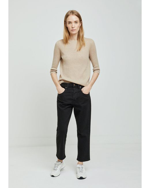 6397 Shorty Black Jeans