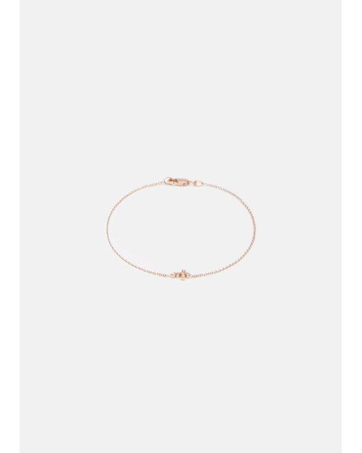 Ileana Makri | Multicolor Mini Cross Diamond Bracelet | Lyst
