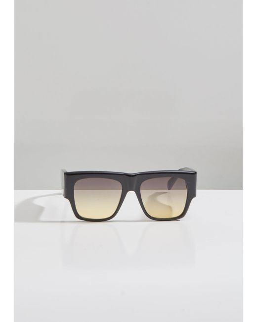ce80a0382a Céline - Multicolor Square Acetate Gradient Sunglasses - Lyst ...