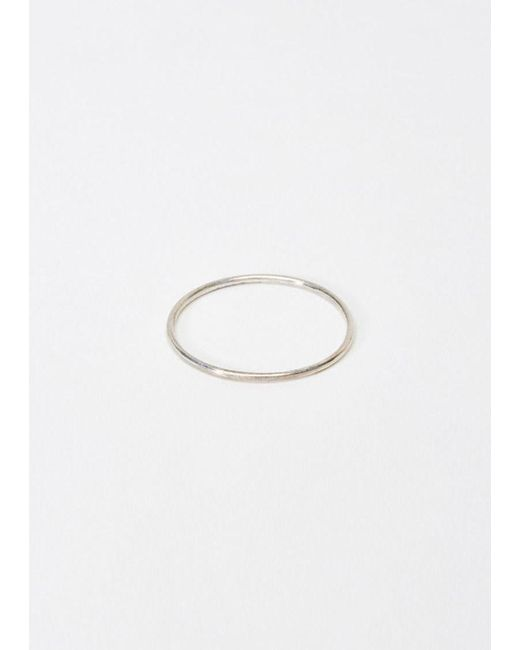 Saskia Diez | Metallic Wire Ring | Lyst