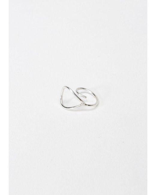 Saskia Diez | Metallic Wire Earcuff | Lyst