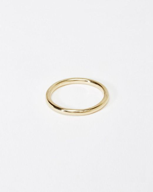 Kathleen Whitaker | Metallic Tube Ring | Lyst