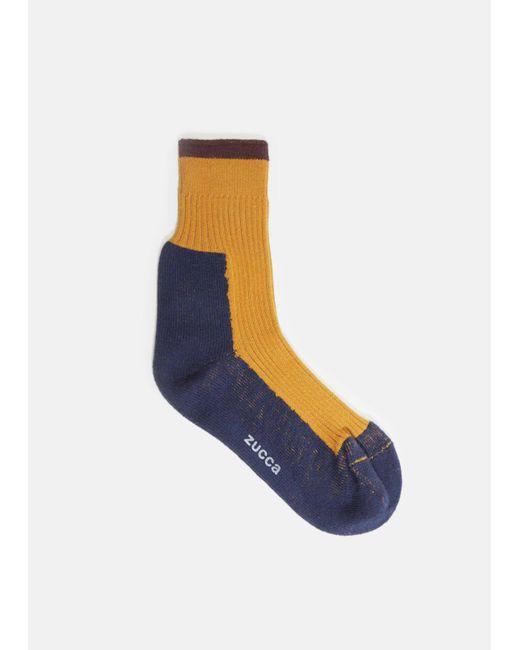 Zucca | Blue Colorblock Socks for Men | Lyst