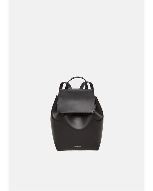 Mansur Gavriel - Black Mini Backpack - Lyst
