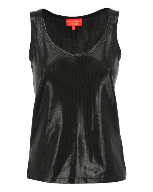 Vivienne Westwood Red Label Black Tank Tops for men