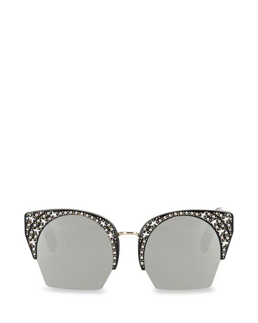 Philipp Plein Black Sunglasses