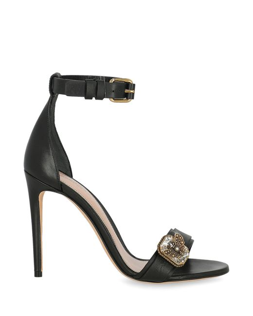 Alexander McQueen Black Sandals