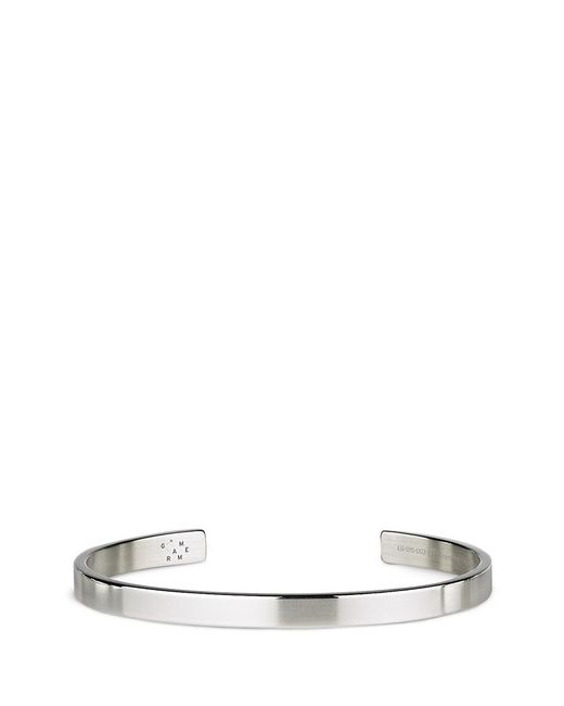 Le Gramme   Metallic 'le 15 Grammes' Polished Sterling Silver Cuff   Lyst
