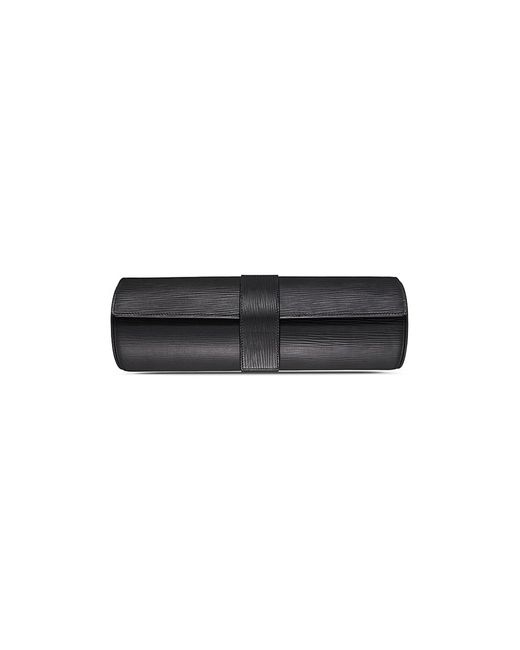 Bamford Watch Department - Black Grain Embossed Calfskin Leather Watch Roll for Men - Lyst