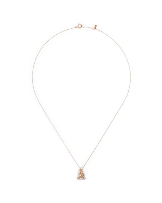 Bao Bao Wan - Metallic 'little Buddha' 18k Gold Diamond Necklace - Lyst