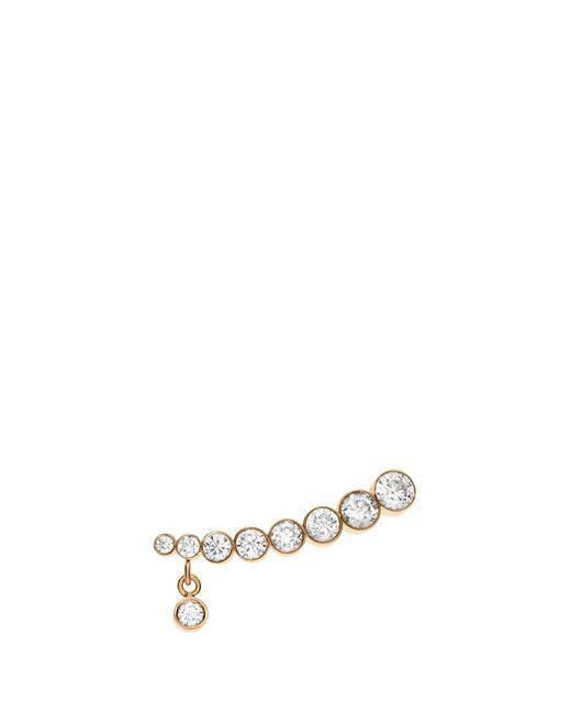 Sophie Bille Brahe | Metallic 'croissant Amanda' Diamond 18k Yellow Gold Single Earring | Lyst