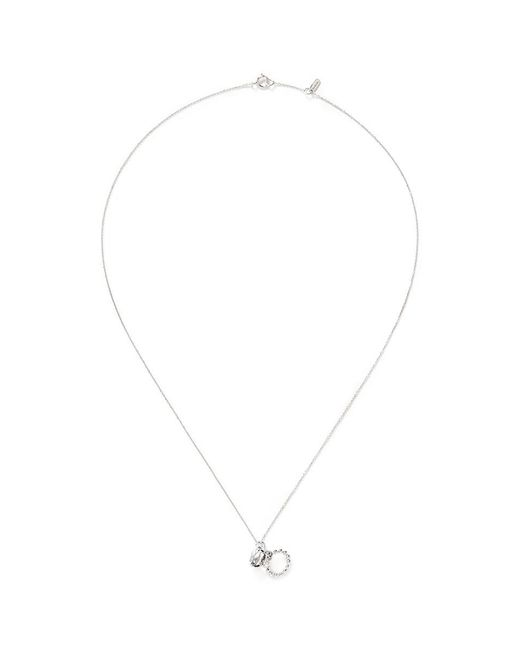 Bao Bao Wan | Diamond Ring White Gold Necklace | Lyst