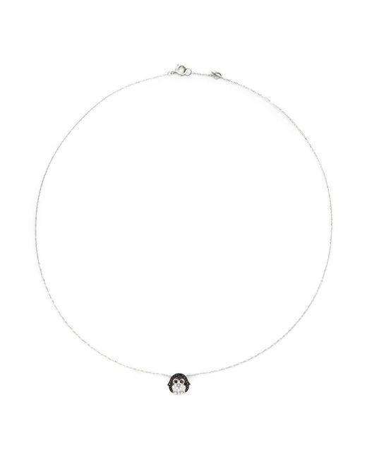 Bao Bao Wan | Black 'little Penguin' 18k Gold Diamond Necklace | Lyst