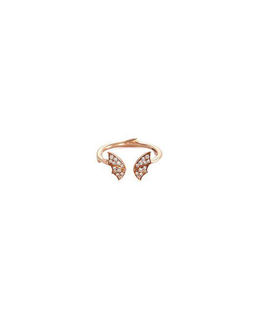 Stephen Webster - Metallic Bat Diamond 18k Rose Gold Mini Open Ring - Lyst