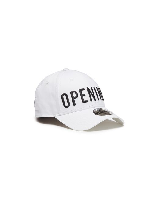 Opening Ceremony - White Logo Satin Stitch Baseball Cap - Lyst