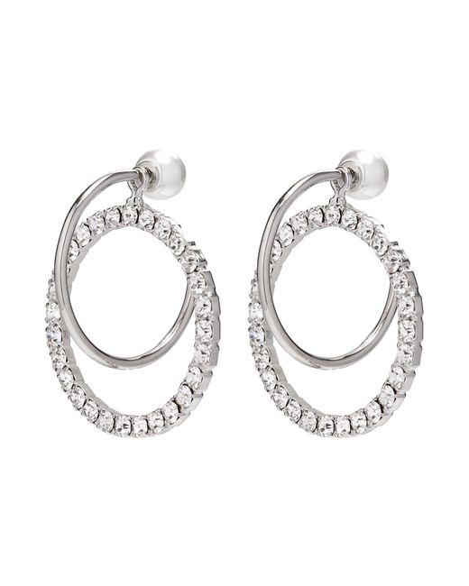 Joomi Lim - Metallic 'saturn Stunner' Detachable Swarovski Crystal Ring Hoop Earrings - Lyst