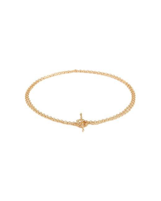 Shihara - Metallic 'chain' 18k Yellow Gold Bracelet – 350mm - Lyst