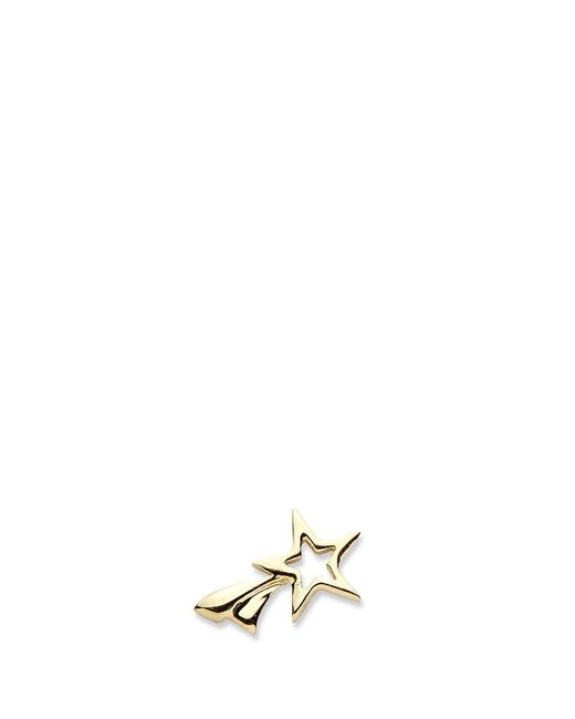 Loquet London | Metallic 14k Yellow Gold Shooting Star Single Earring - Make A Wish | Lyst