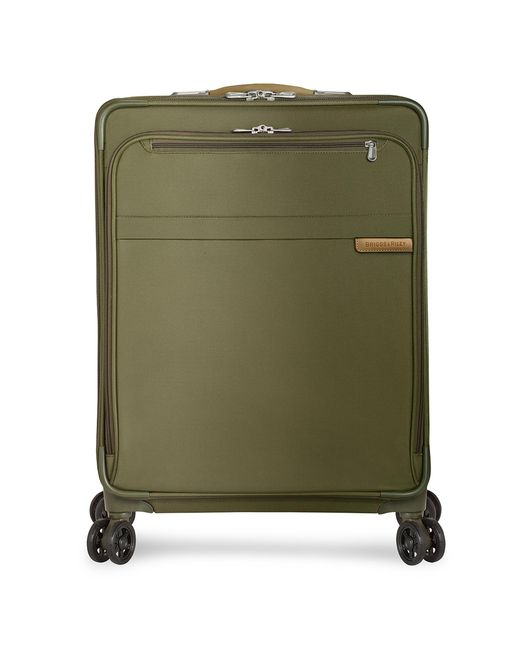 Briggs & Riley Green Baseline Medium Expandable Spinner Suitcase
