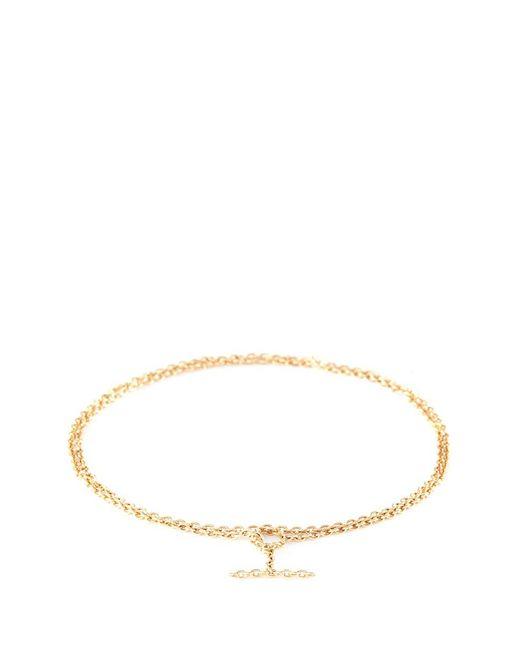 Shihara | Metallic 'chain' 18k Yellow Gold Toggle Chain Bracelet | Lyst