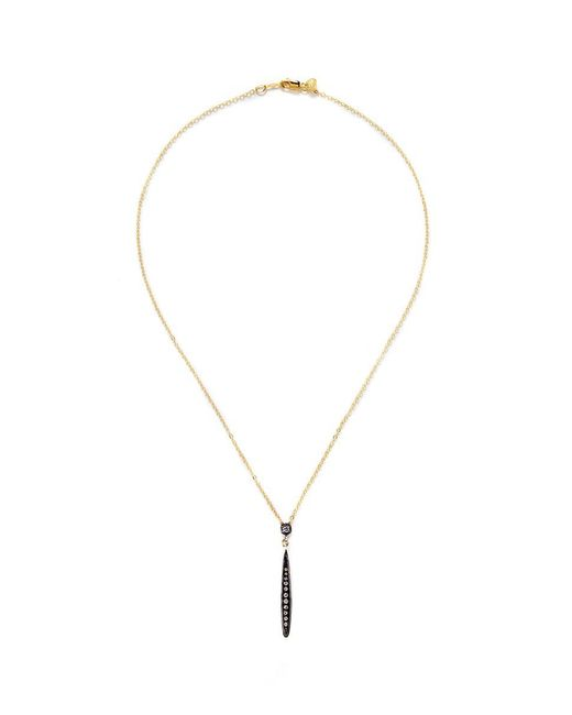 Ila & I - Metallic 'Robin' Diamond Necklace - Lyst