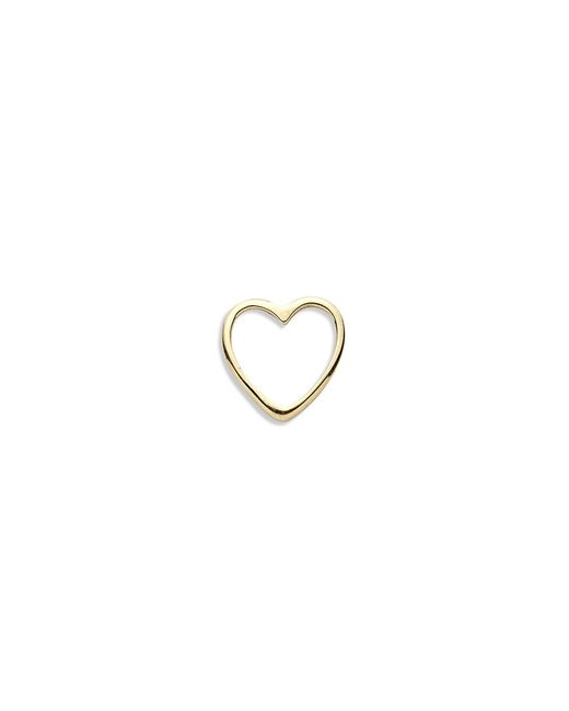 Loquet London | Metallic 18k Yellow Gold Heart Charm - With Love | Lyst