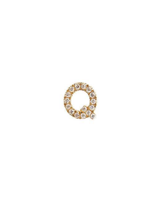 Loquet London | Metallic Diamond 18k Yellow Gold Letter Charm – Q | Lyst