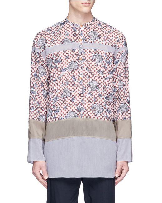 Kolor | Multicolor Floral Dots Shirt for Men | Lyst