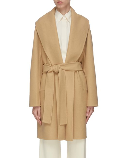 The Row Natural Maddy Belted Coat