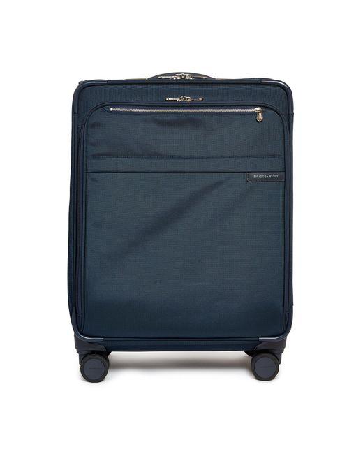 Briggs & Riley Blue Baseline Medium Expandable Spinner Suitcase – Navy