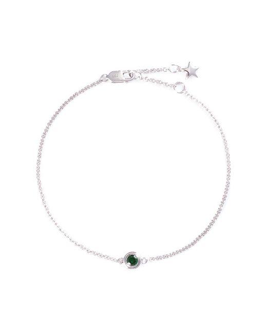 LC COLLECTION - Metallic Garnet 18k White Gold Bracelet - Lyst