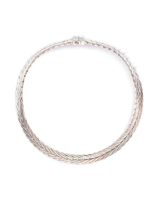 John Hardy - Metallic Silver Chain Effect Necklace - Lyst