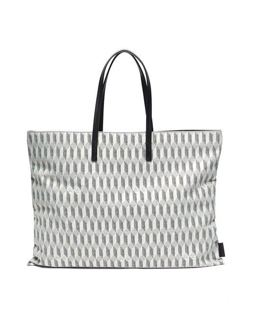 AU DEPART Multicolor Grande Europe' Reflex Tote Bag for men