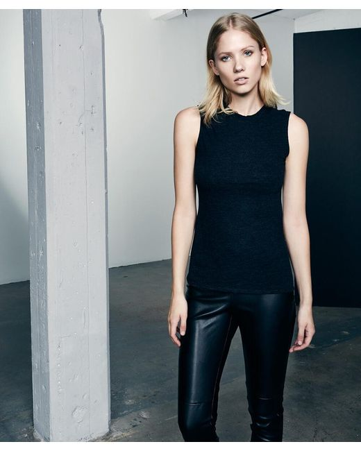 Lanston | Black Fitted Muscle Tee | Lyst