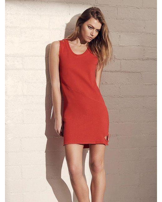 Lanston | Red Cutout Mini Dress | Lyst
