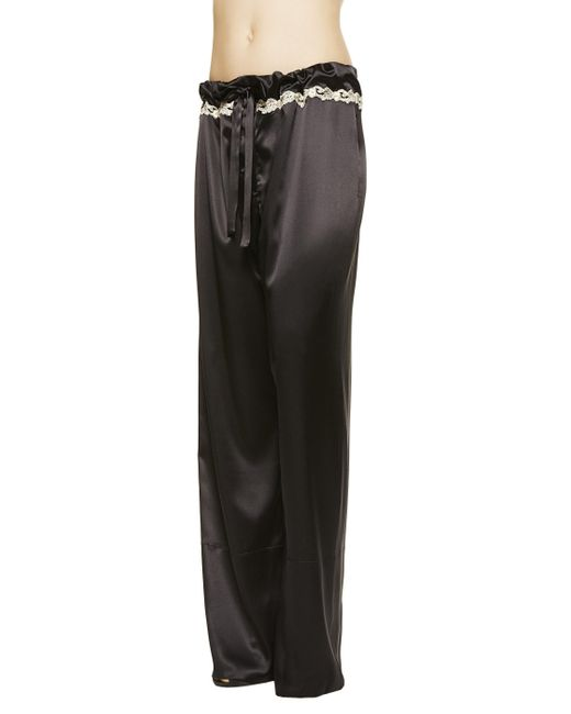 La Perla | Black Trousers | Lyst