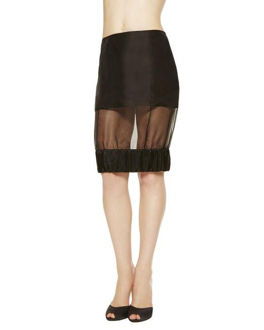 La Perla   Black Skirt   Lyst