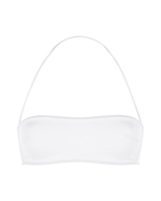 La Perla   White Bandeau Bikini Top   Lyst