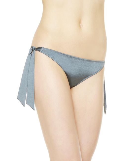 La Perla | Gray Bikini Briefs With Ties | Lyst