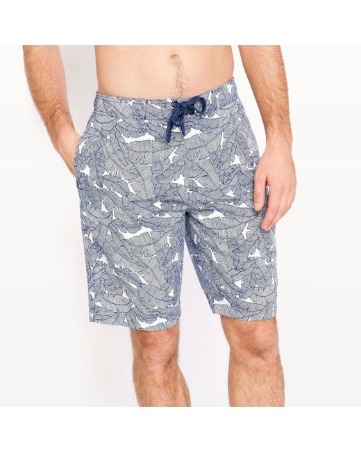 LA REDOUTE | Blue Printed Boardshorts for Men | Lyst